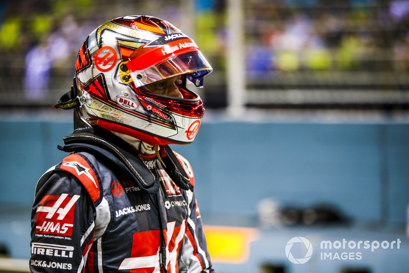 GP Singapura - Kevin Magnussen