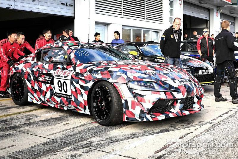 Toyota Supra race car