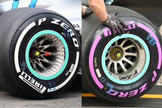 Détails des roues Mercedes