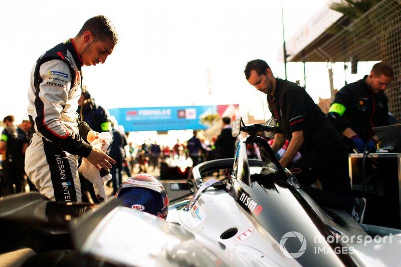 Sébastien Buemi, Nissan e.Dams, on the grid