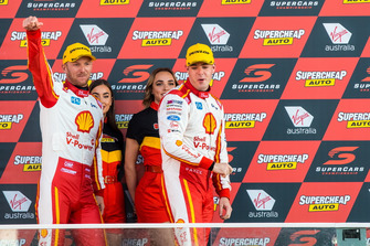 Podium: Scott McLaughlin, Alexandre Premat, DJR Team Penske Ford