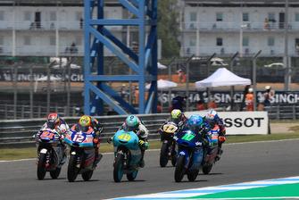 Fabio Di Giannantonio, Del Conca Gresini Racing Moto3, Marco Bezzecchi, Prustel GP, Lorenzo Dalla Porta, Leopard Racing, Foggia