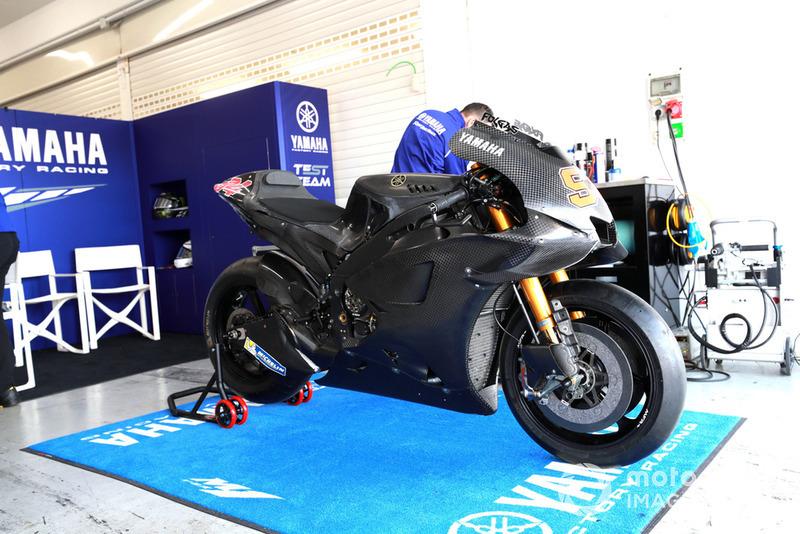 Мотоцикл Йонаса Фольгера, Yamaha Factory Racing, bike