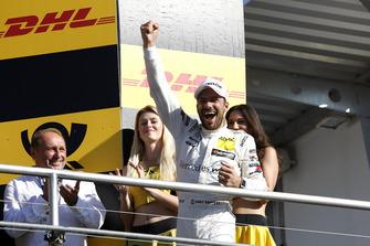 Champion Podium: Champion Gary Paffett, Mercedes-AMG Team HWA