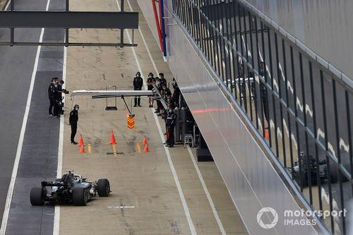 Июньские тесты Mercedes