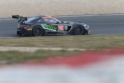 #46 Sports & You, Mercedes-AMG GT3: Louis-Philippe Soenen, Angélique Detavernier, Jose Manuel Balbia