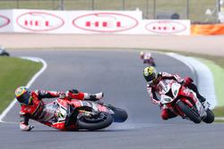 Chaz Davies, Aruba.it Racing - Ducati Team, Karel Abraham, Milwaukee BMW