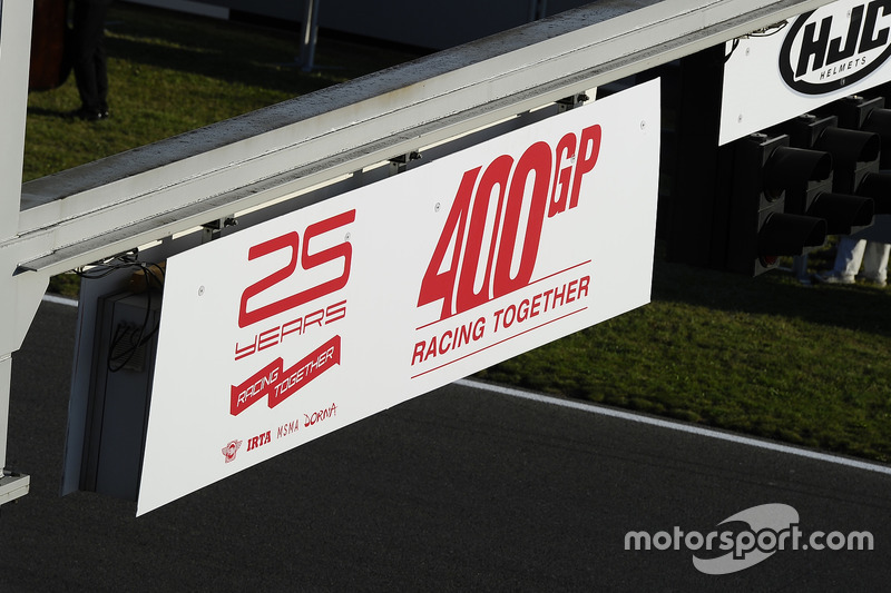 Celebrazioni per la 400esima gara di MotoGP