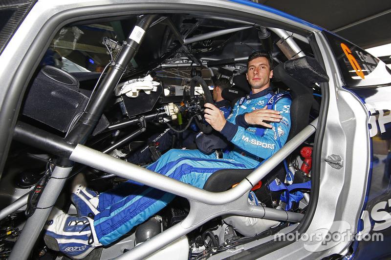 Eric Camilli, M-Sport Ford Fiesta WRC