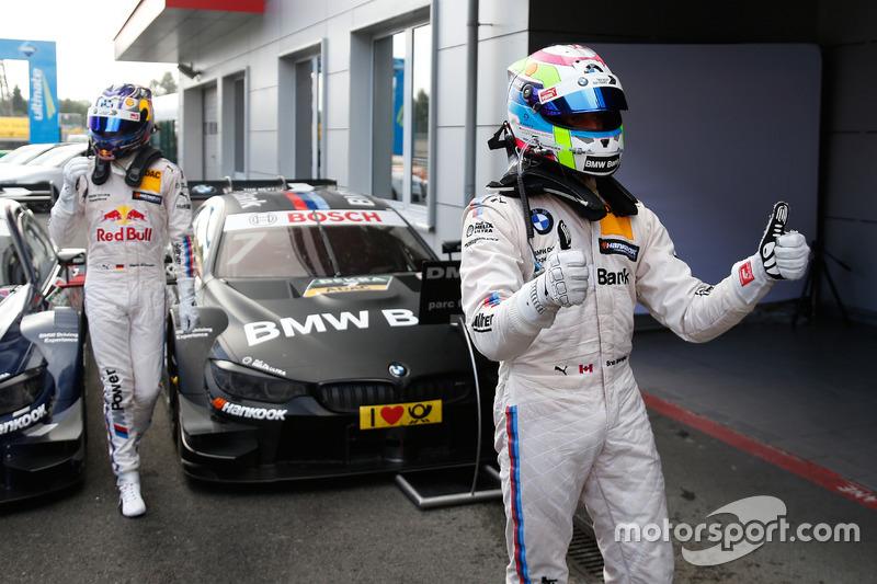 third place Bruno Spengler, BMW Team MTEK, BMW M4 DTM