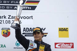 Podium: Winner Kami Laliberté, Van Amersfoort Racing