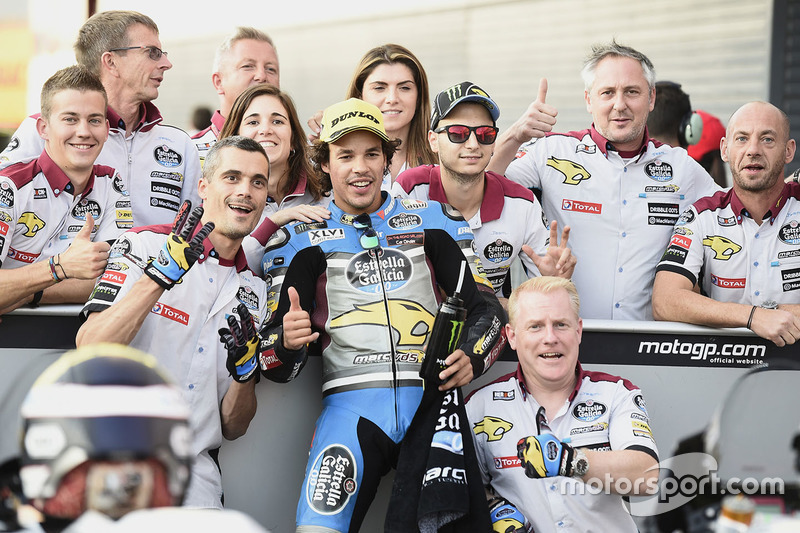 Third place Franco Morbidelli, Marc VDS