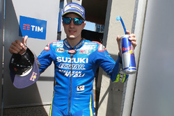 Second place qualifying for Maverick Viñales, Team Suzuki MotoGP