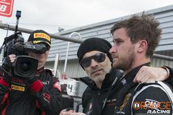 Armando Donazzan, CEO di Orange1 Racing con Nicola de Marco