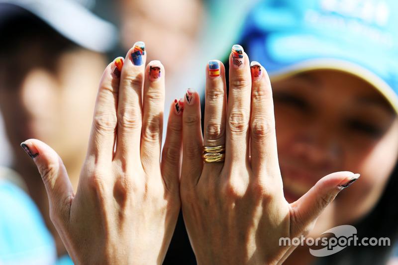 Ein Fan von Fernando Alonso, McLaren