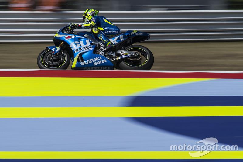 21. Andrea Iannone, Team Suzuki MotoGP