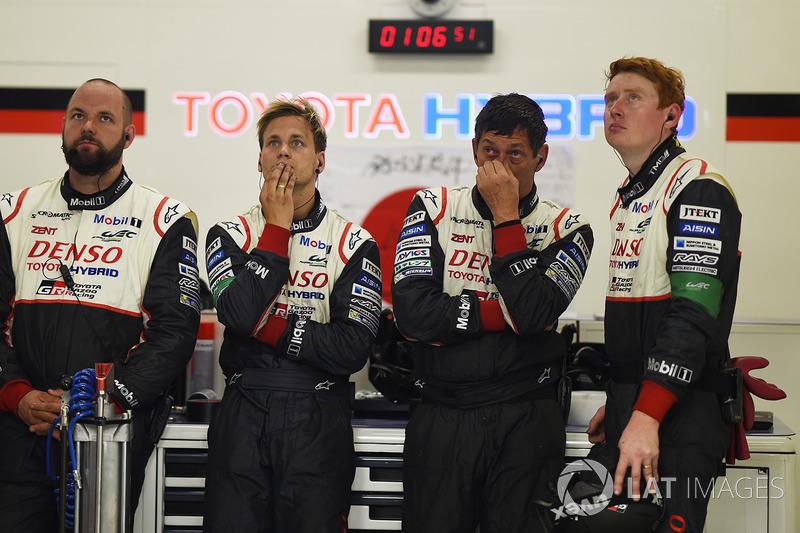 Enttäuschte Teammitglieder: Toyota Gazoo Racing