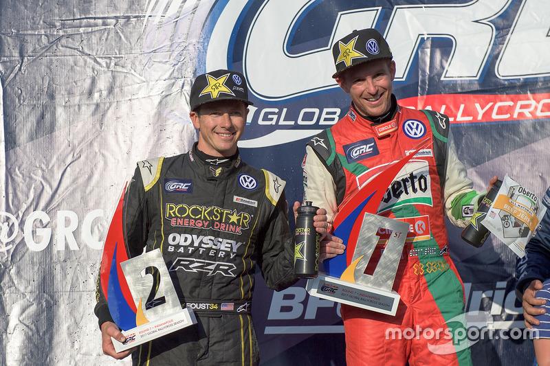 Podium: 1. Scott Speed, Volkswagen, 2. Tanner Foust, Volkswagen