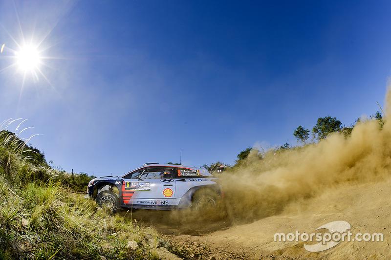 #9: Thierry Neuville, Nicolas Gilsoul, Hyundai i20 WRC