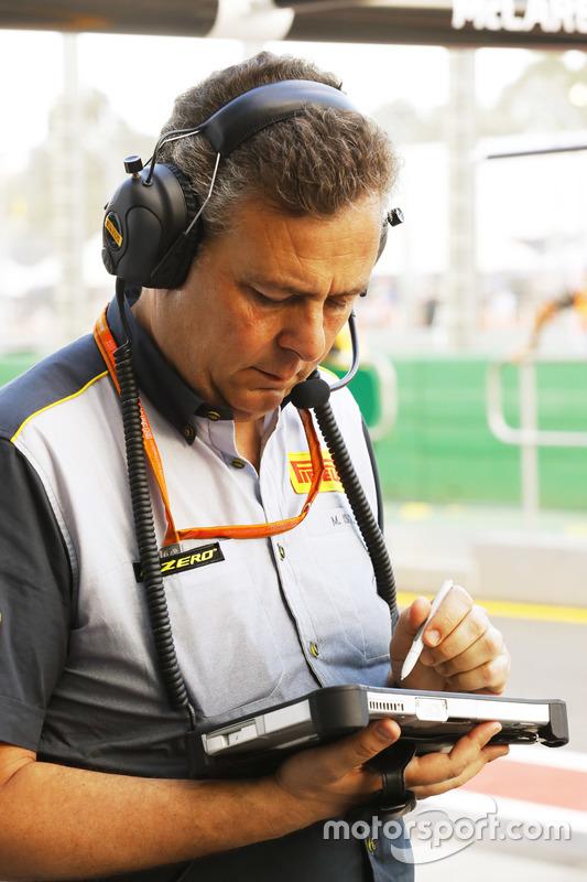 Mario Isola, Pirelli-Sportchef