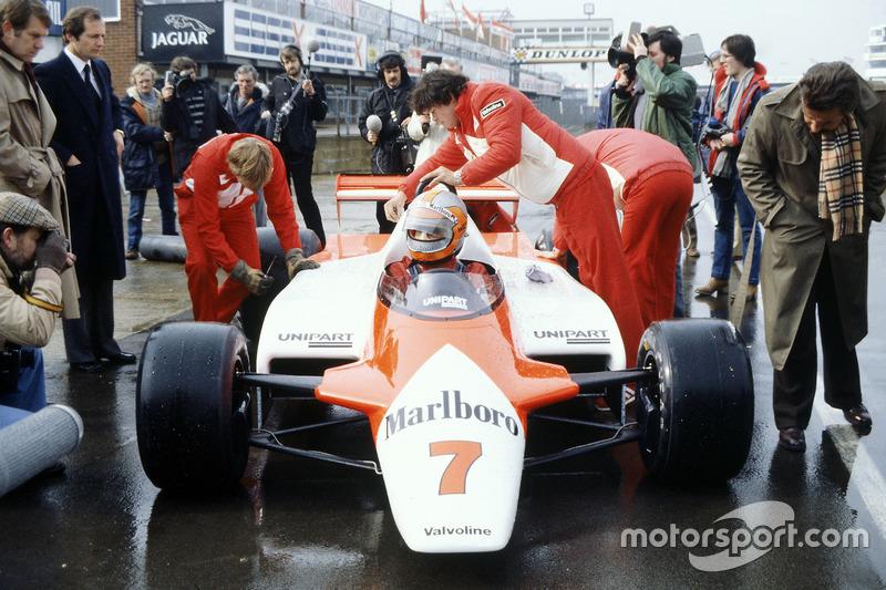 1981: John Watson, McLaren MP4/1-Cosworth