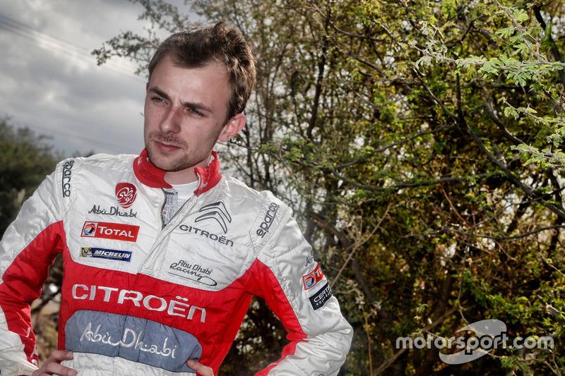 Стефан Лефевр, Citroën C3 WRC, Citroën World Rally Team