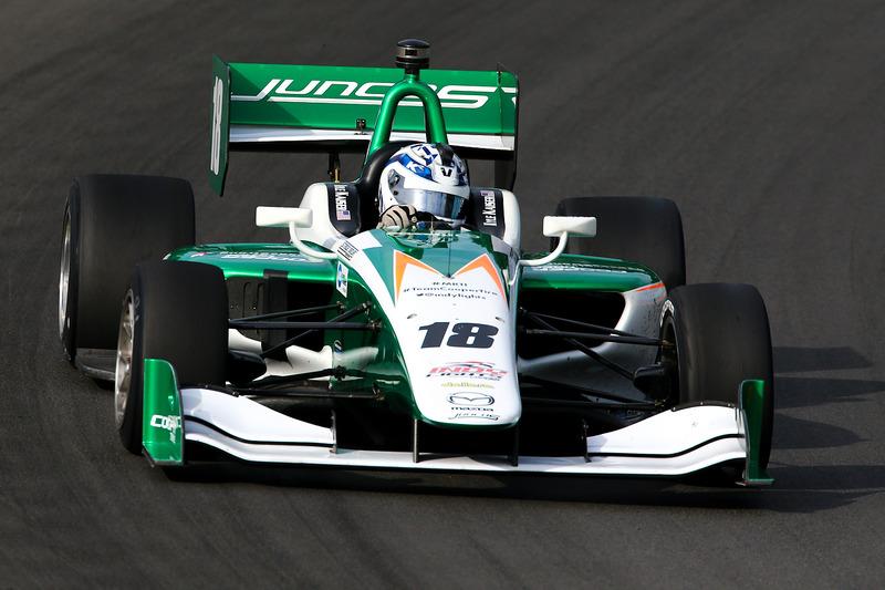 Indy Lights: Juncos Racing, Dallara-Mazda IL-15