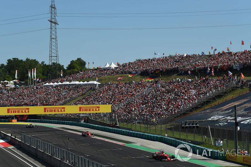 Себастьян Феттель, Кімі Райкконен, Ferrari SF70-H