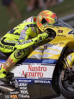 Валентино Росси, Honda