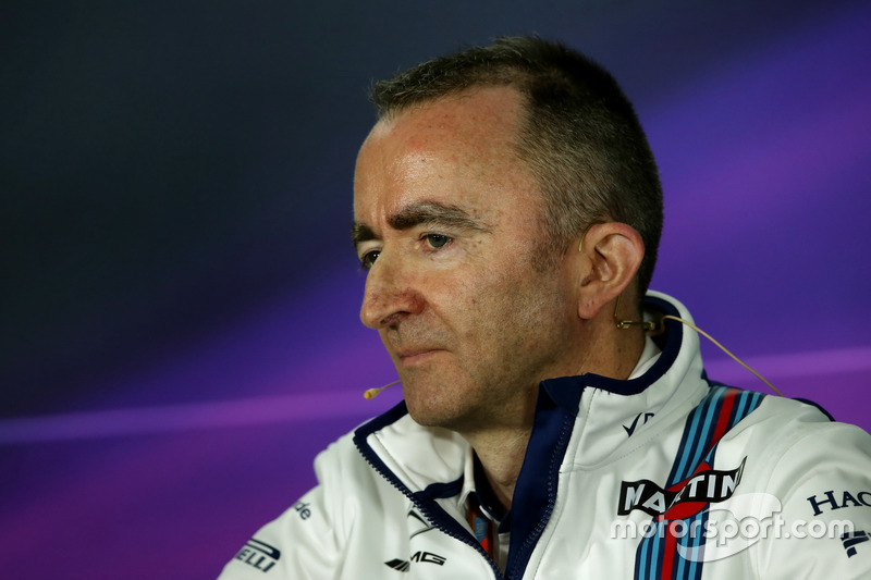 Paddy Lowe, Williams Technikchef bei der FIA Pressekonferenz