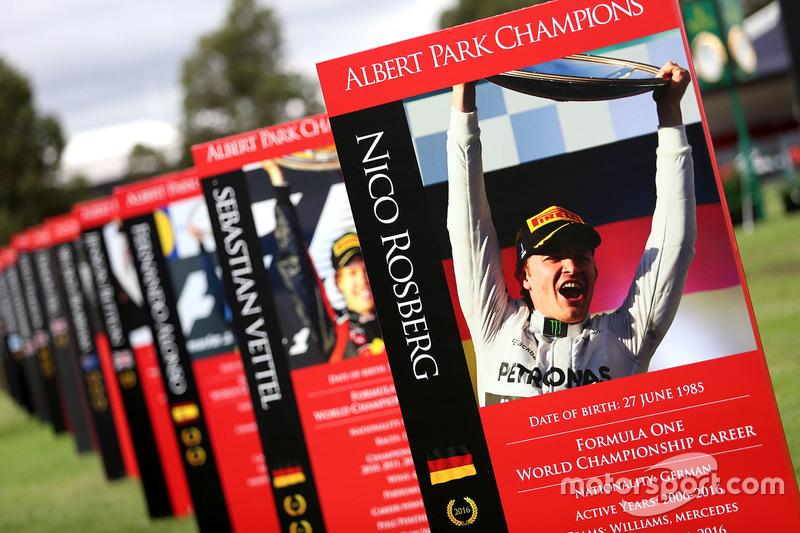 Nico Rosberg en el paddock