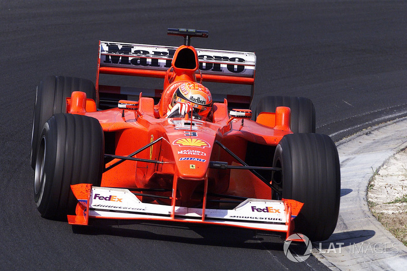 Michael Schumacher, lors du GP de Hongrie