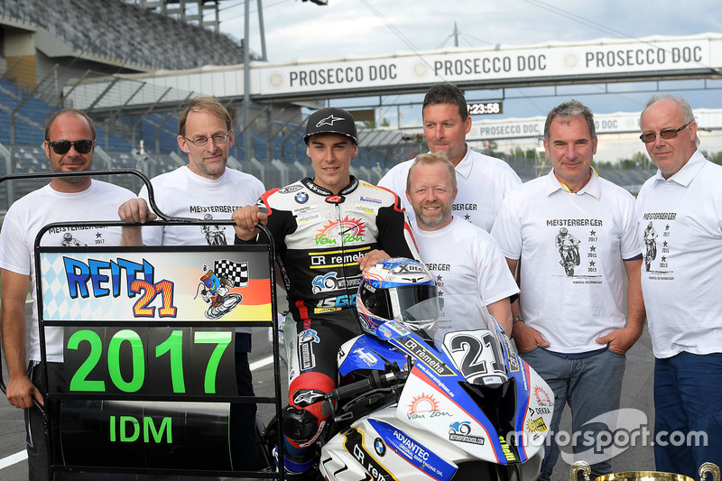 Markus Reiterberger, BMW mit dem Team