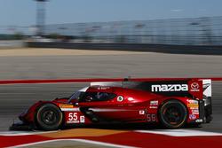 #55 Mazda Motorsports Mazda DPi: Jonathan Bomarito, Tristan Nunez
