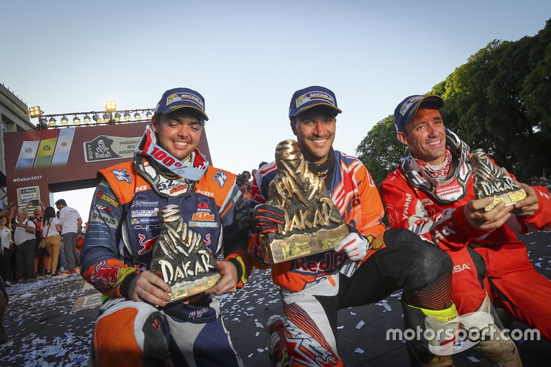 Sam Sunderland, Red Bull KTM Factory Racing, Matthias Walkner, Red Bull KTM Factory Racing, Gerard F