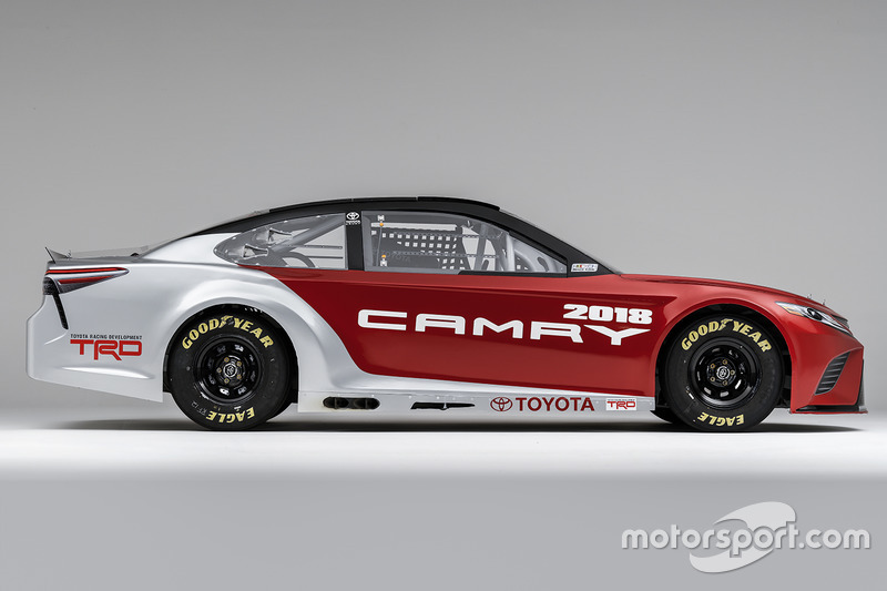 Toyota Unveils All New Look For Nascar Camry