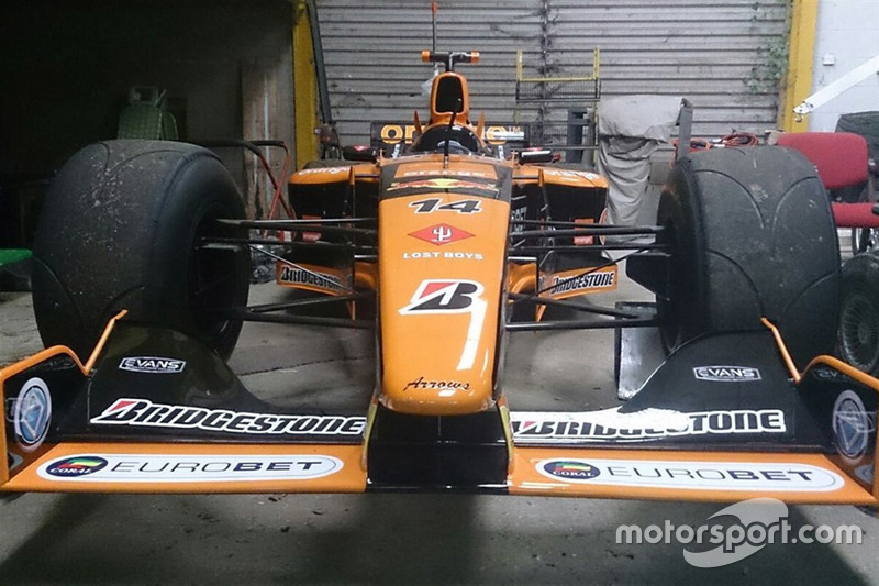 Arrows A21 chassis 06 on sale