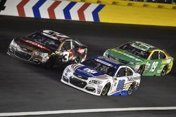Austin Dillon, Richard Childress Racing, Chevrolet; Dale Earnhardt Jr., Hendrick Motorsports, Chevro