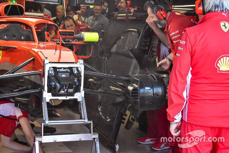 Замена днища на Ferrari SF71H