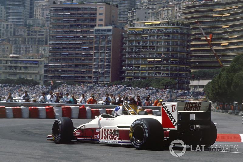 Дерек Уорвик на Arrows стал четвертым. В том сезоне он четырежды финишировал на этой позиции, но так ни разу и не попробовал призового шампанского.