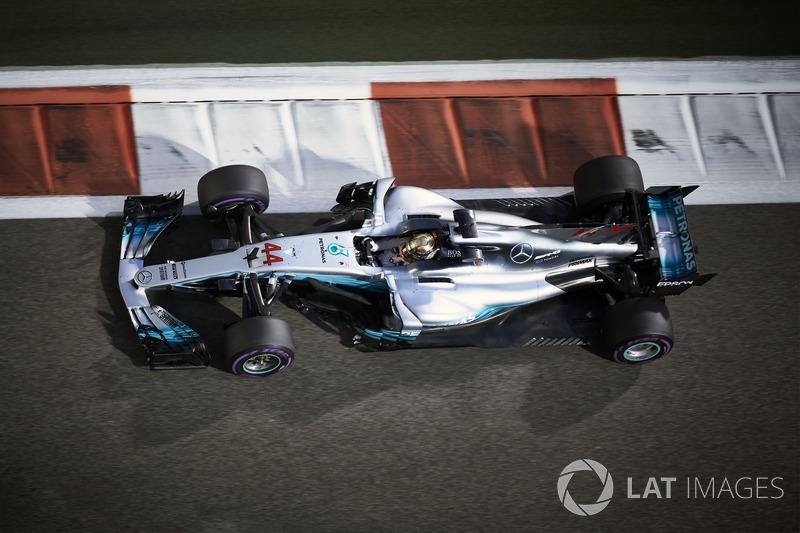 Formel 1: Mercedes AMG Petronas, Mercedes F1 W08 EQ Power+