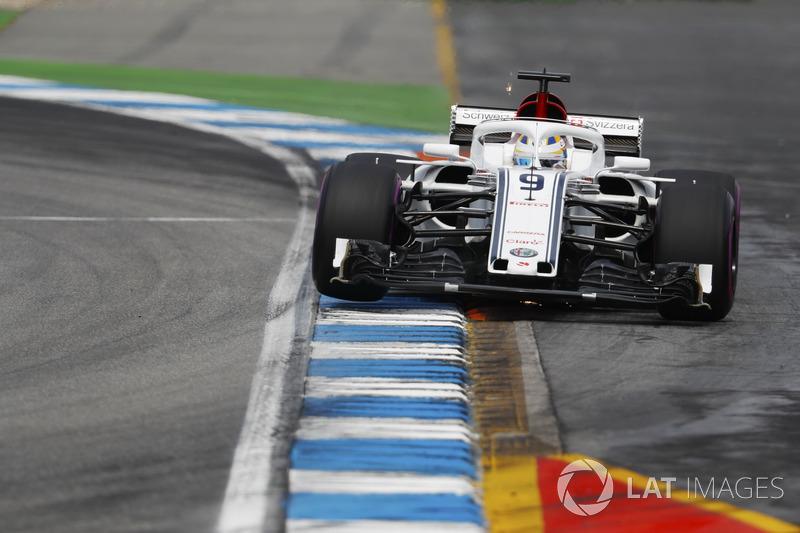 Mais bem colocado da Sauber, Marcus Ericsson ficou em nono