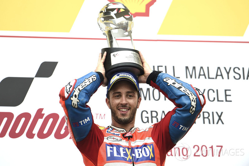 Podio: ganador, Andrea Dovizioso, Ducati Team