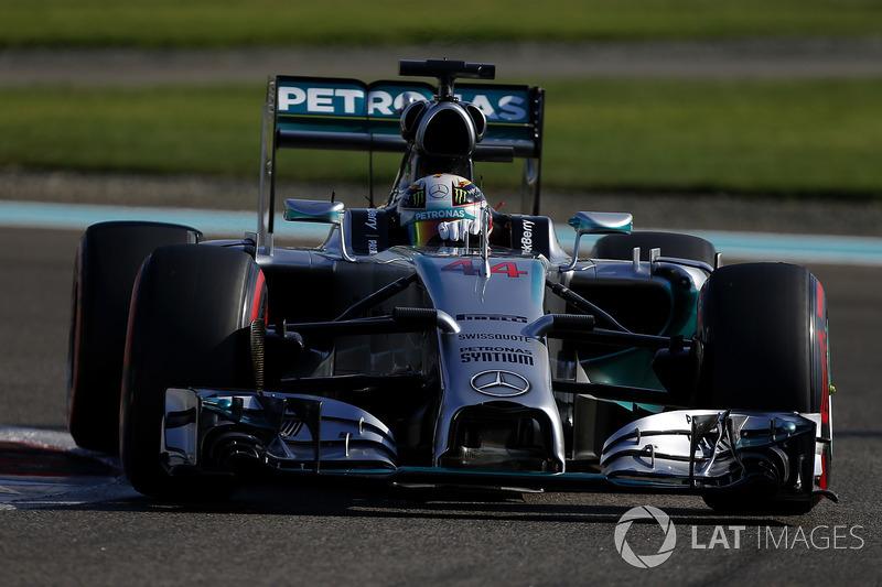 2014: Mercedes AMG F1 W05