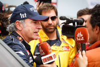 Le vainqueur auto Carlos Sainz, Peugeot Sport