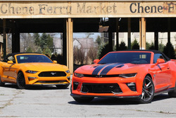 Chevy Camaro SS Vs. Ford Mustang GT