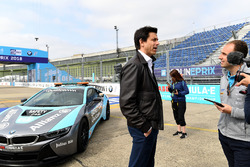 Toto Wolff, Executive Director, Mercedes AMG, supporting Dare to be Different