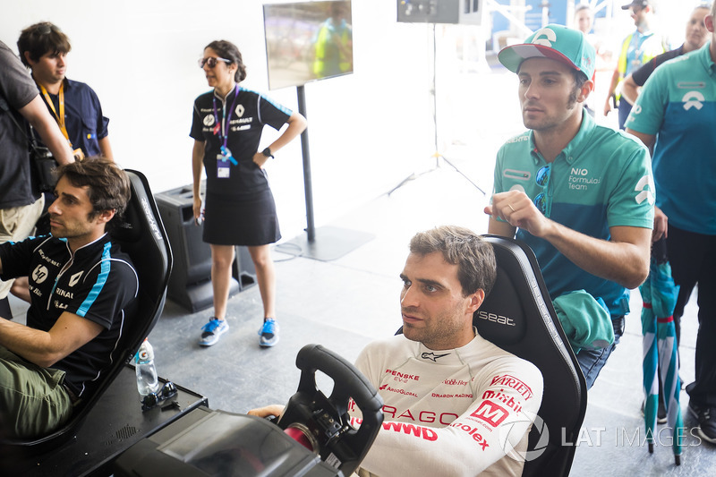 Nicolas Prost, Renault e.Dams, Jérôme d'Ambrosio, Dragon Racing, Luca Filippi, NIO Formula E Team