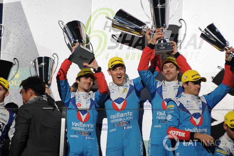 Na LMP2: Bruno Senna, Julien Canal e Nicolas Prost levaram a melhor na China. André Negrão foi o segundo e time de Nelsinho Piquet completaram o pódio da classe.