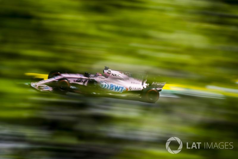 8 місце - Серхіо Перес, Force India
